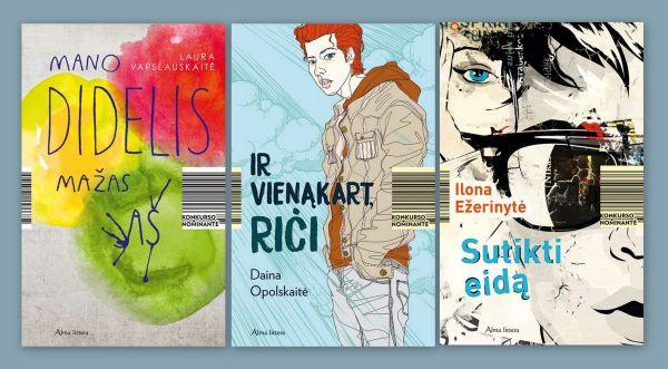 trys paauglių knygos