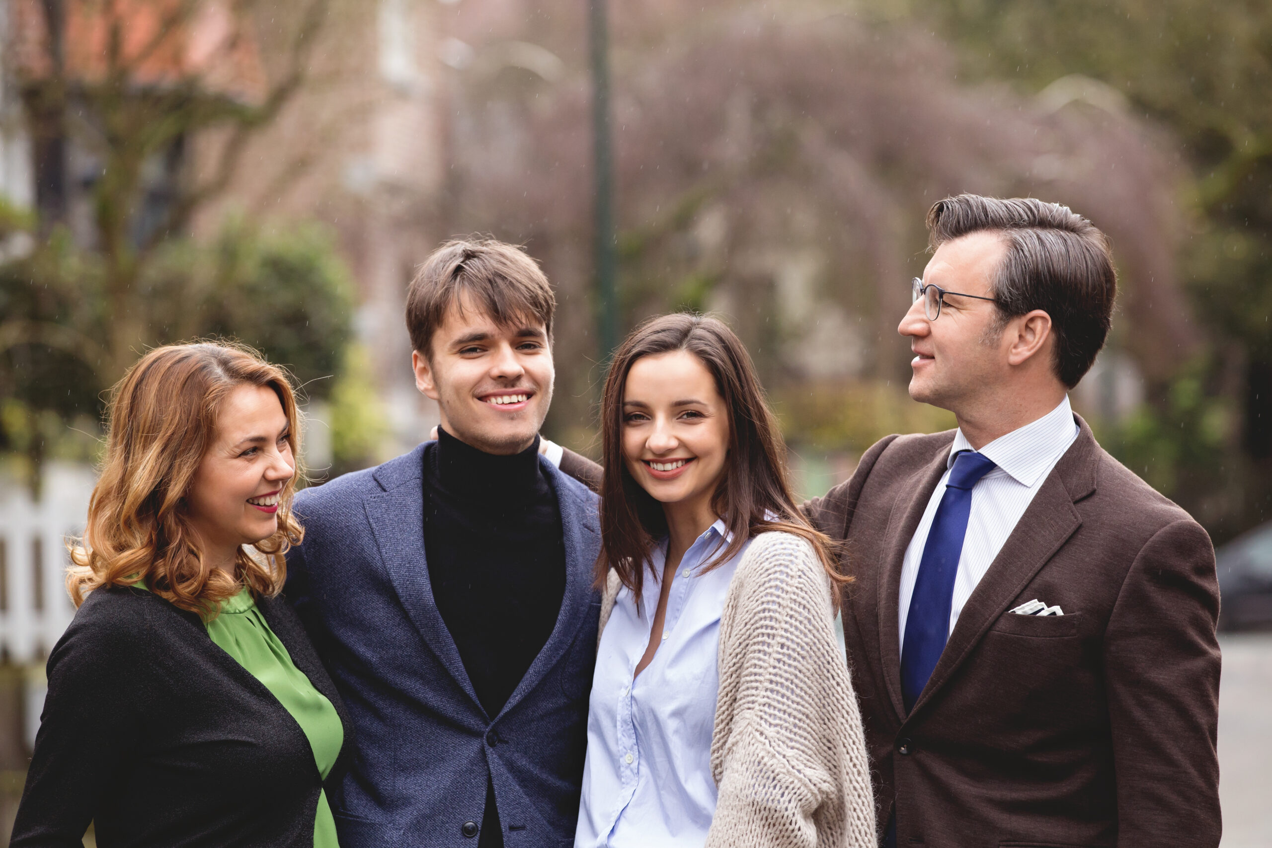 Su šeima.