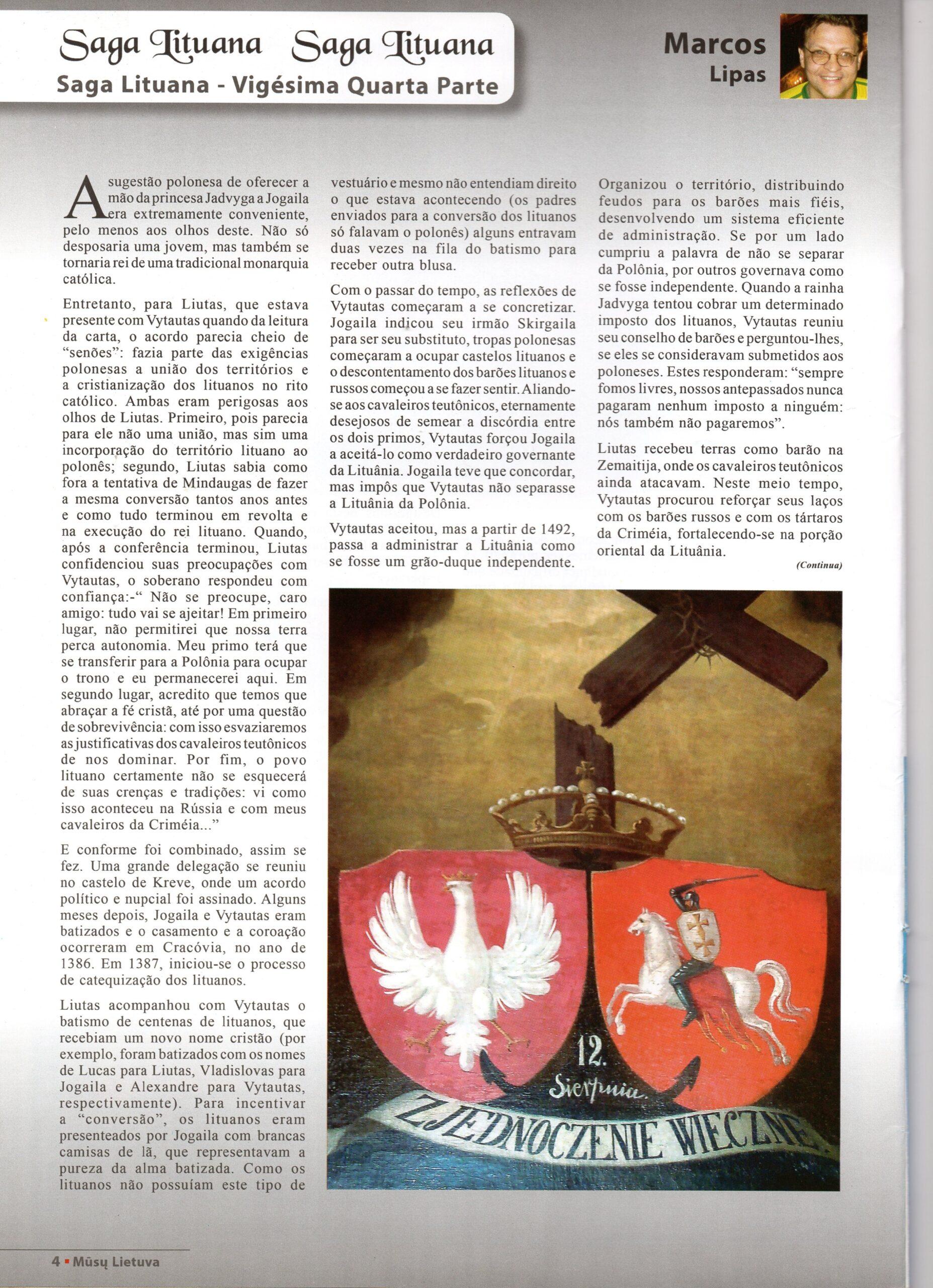 Žurnalo puslapis.