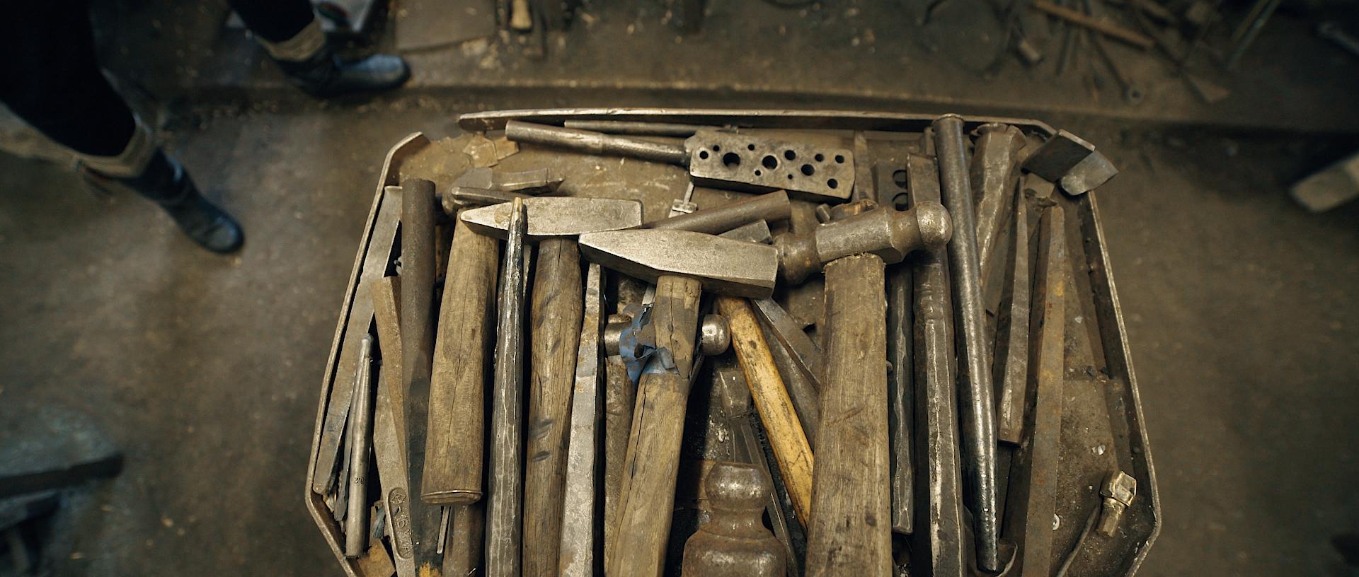Kalvio įrankiai.