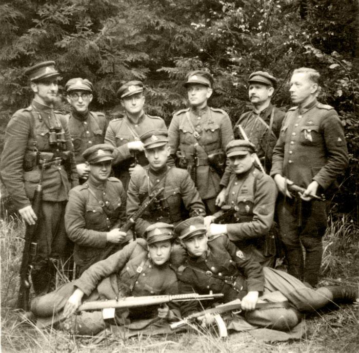 Lietuvos partizanai: nuotraukos