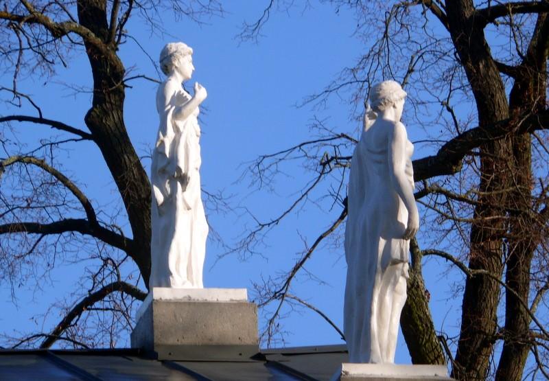 Tuskulėnų dvaro skulptūros