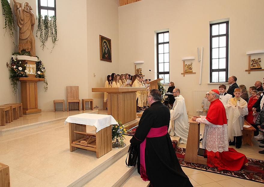 Nemėžio bažnyčios pašventinimas