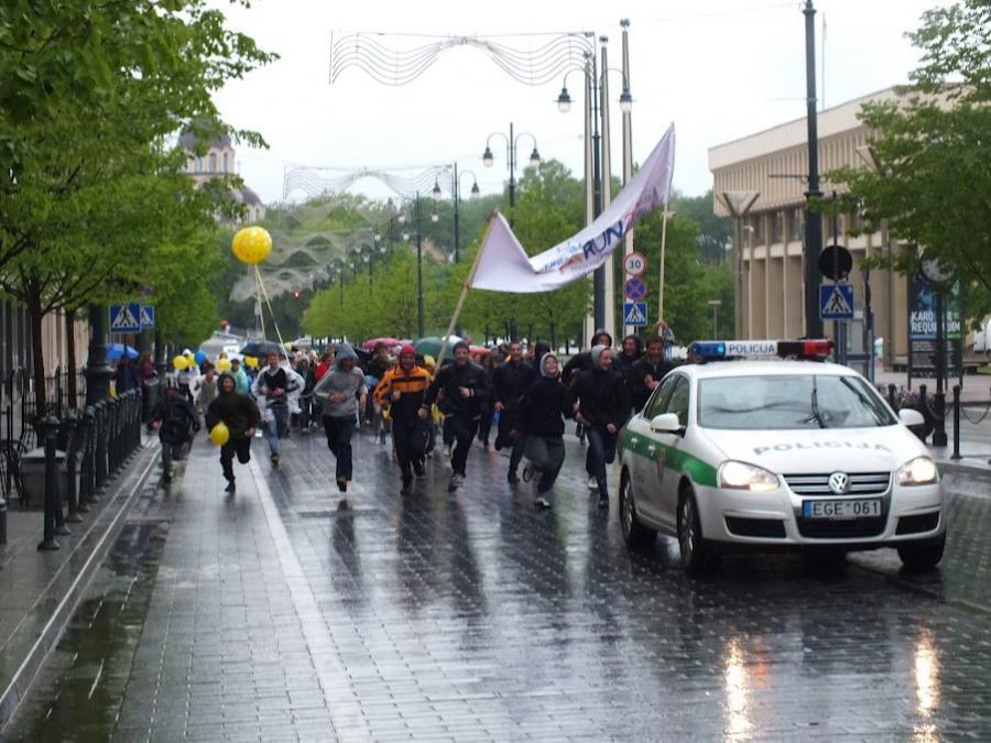 Run4unity 2012 Vilniuje