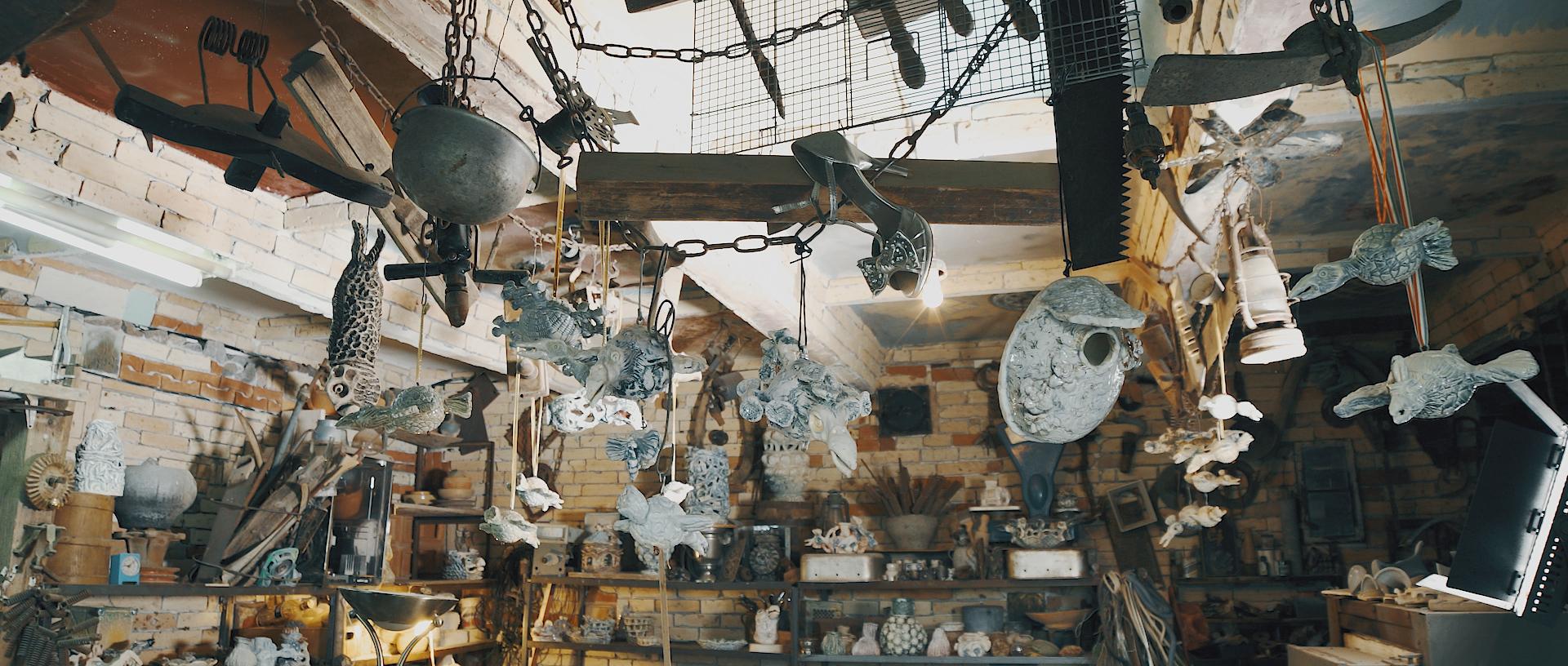 Keramiko dirbtuvė.
