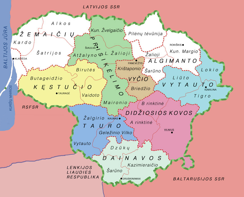 Laisvės kryžkelės. Lietuva 1939–1990 metais