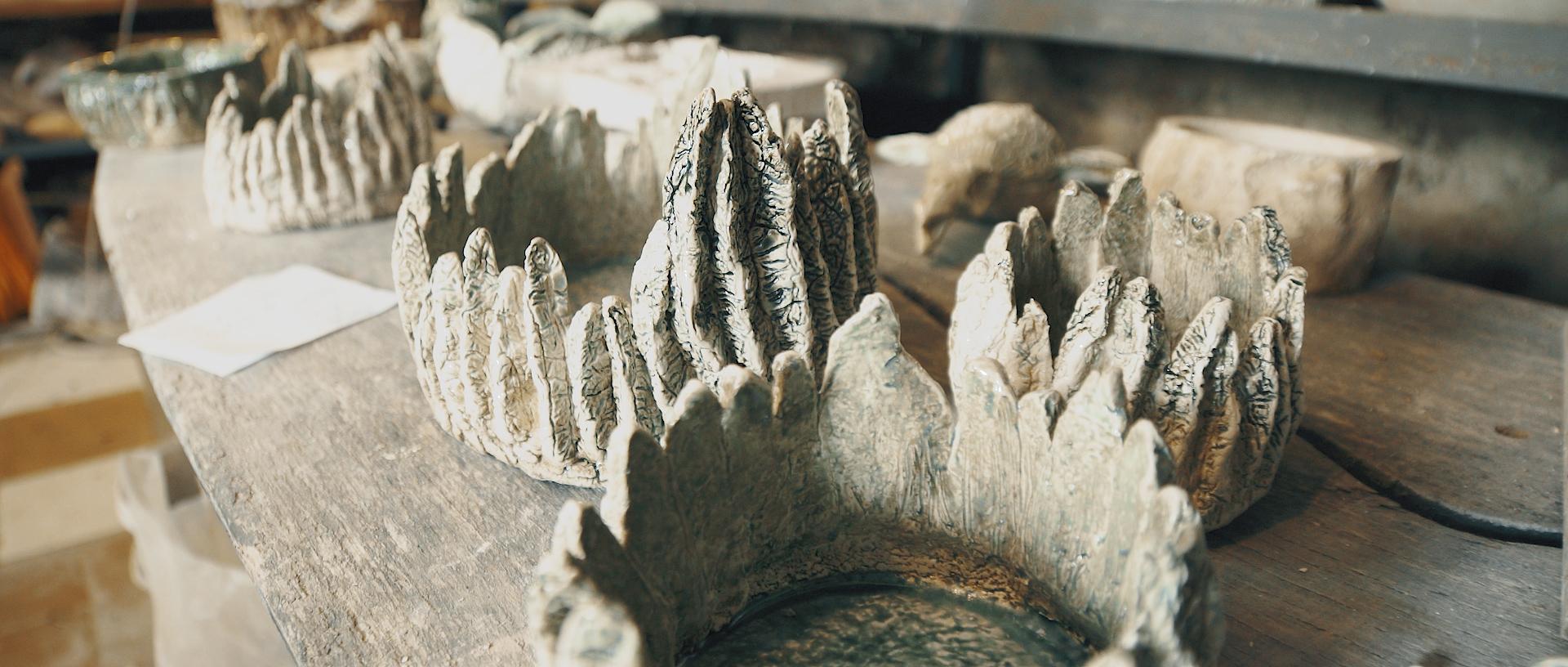 Keramikos darbai.