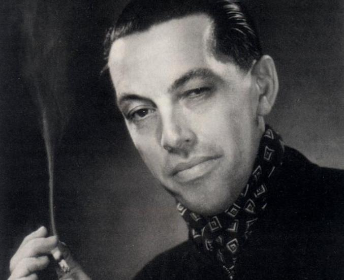 Portretas su cigarete.
