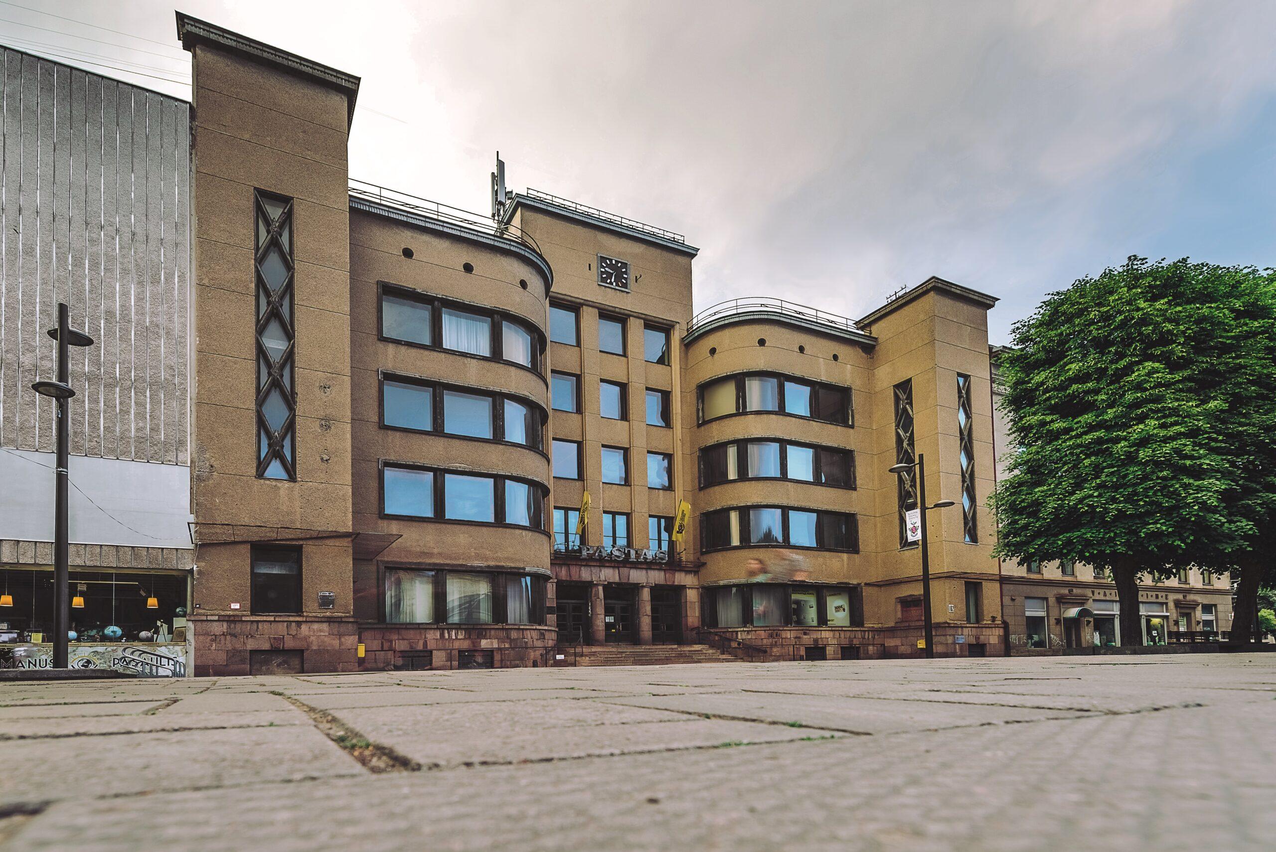 Kauno centrinis paštas. Andriaus Aleksandravičiaus nuotrauka