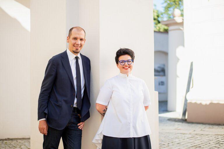 Viktorija Urbonaitė ir Donatas Puslys