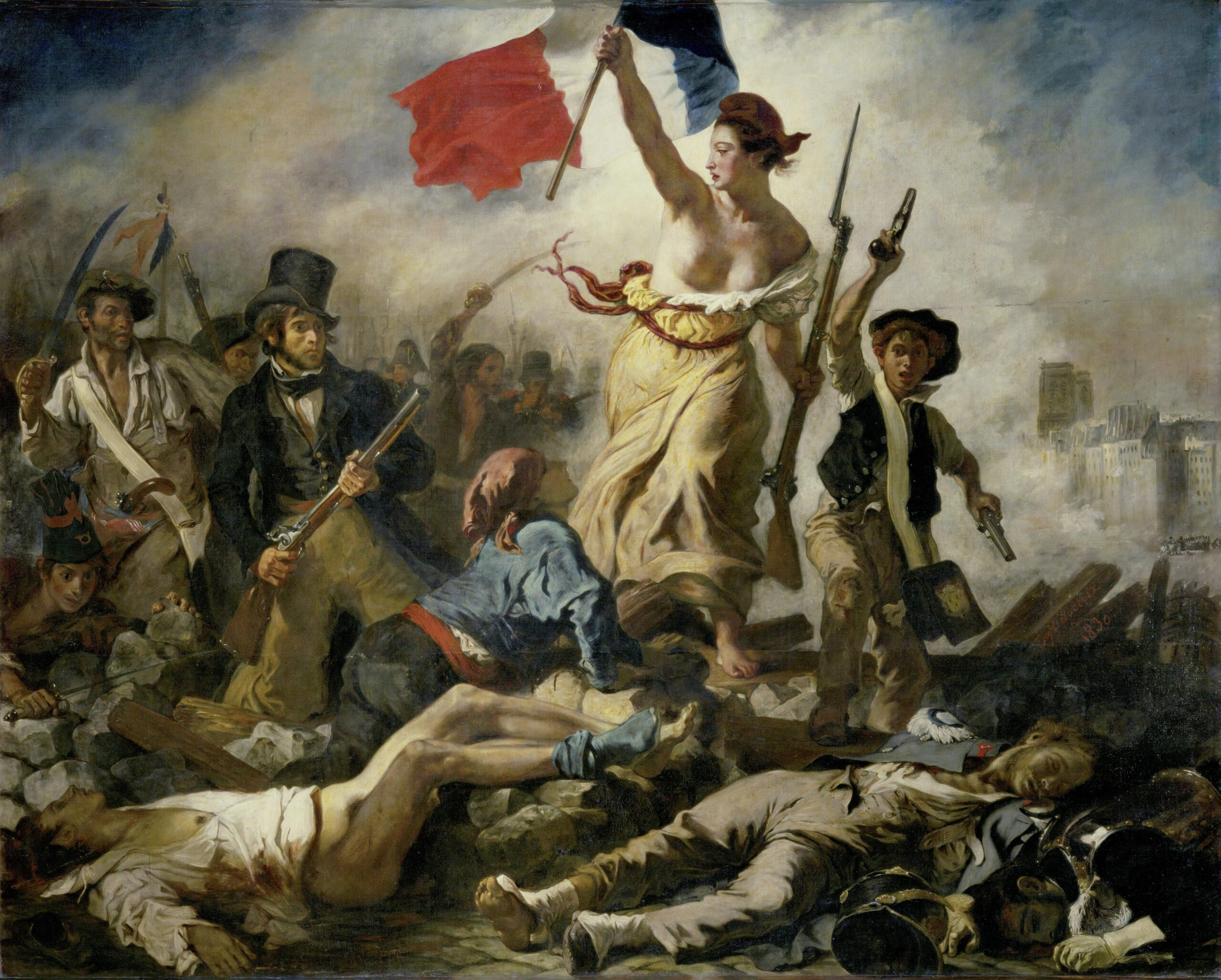 Eugène Delacroix paveikslas.