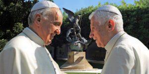 Benediktas XVI ir Popiežius Pranciškus