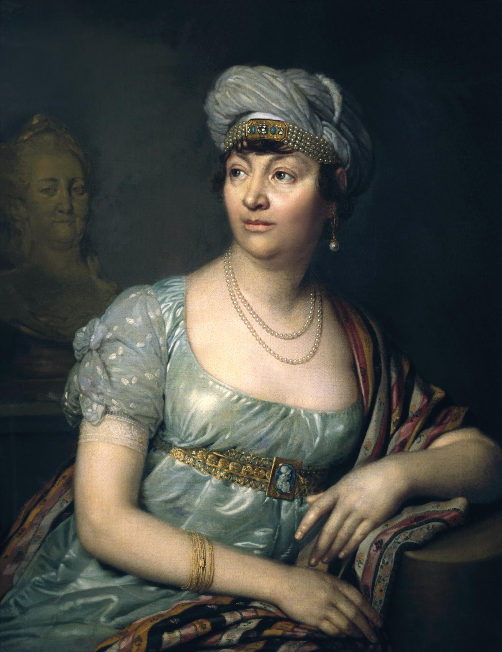 Madame de Staël portretas
