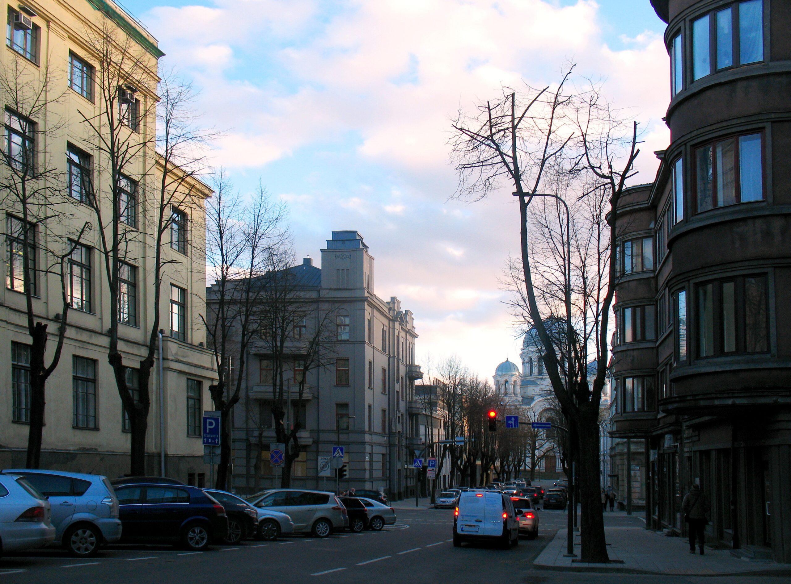 Gedimino gatvė. Gintaro Vitulskio nuotrauka