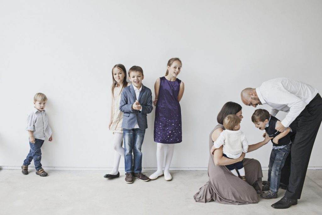 Jurgita Salinienė su šeima.