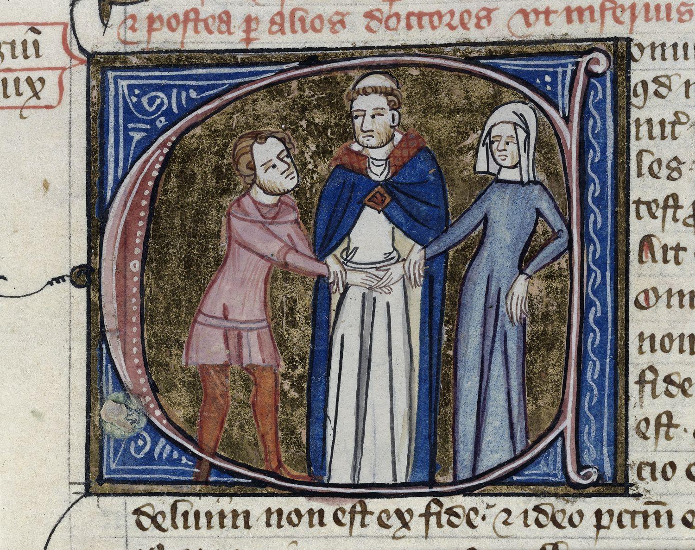 Santuoka viduramžiais