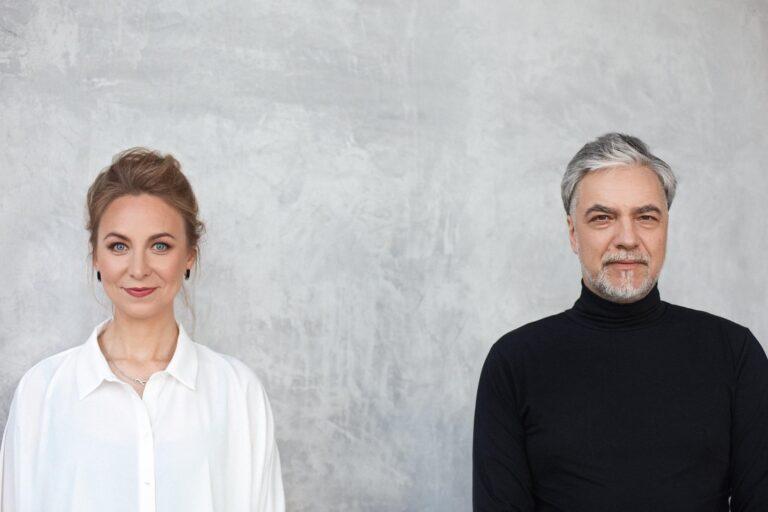 Justinos Gringytės ir Petro Geniušo portretas.