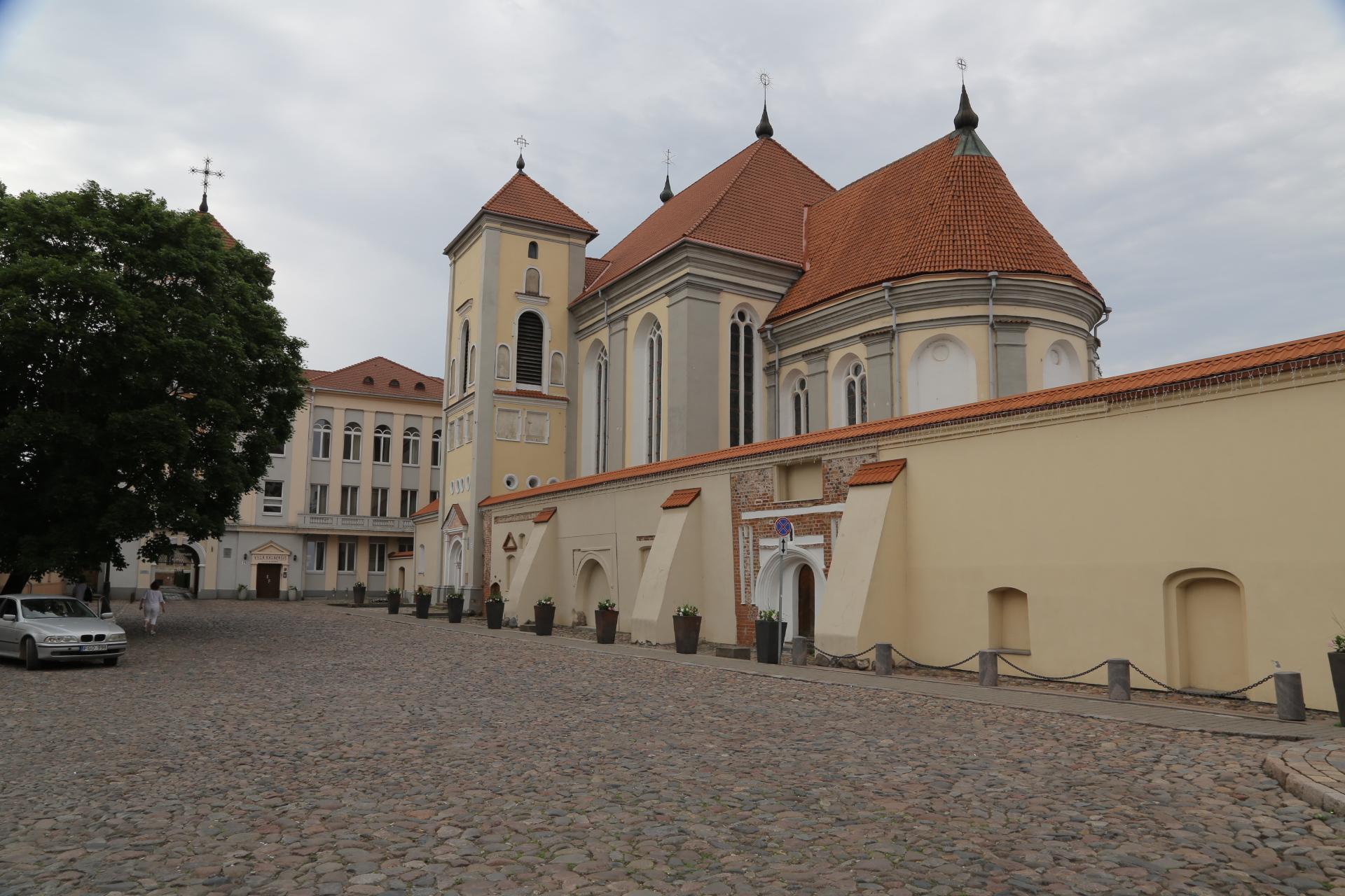 Kauno bernardinių vienuolyno tvora