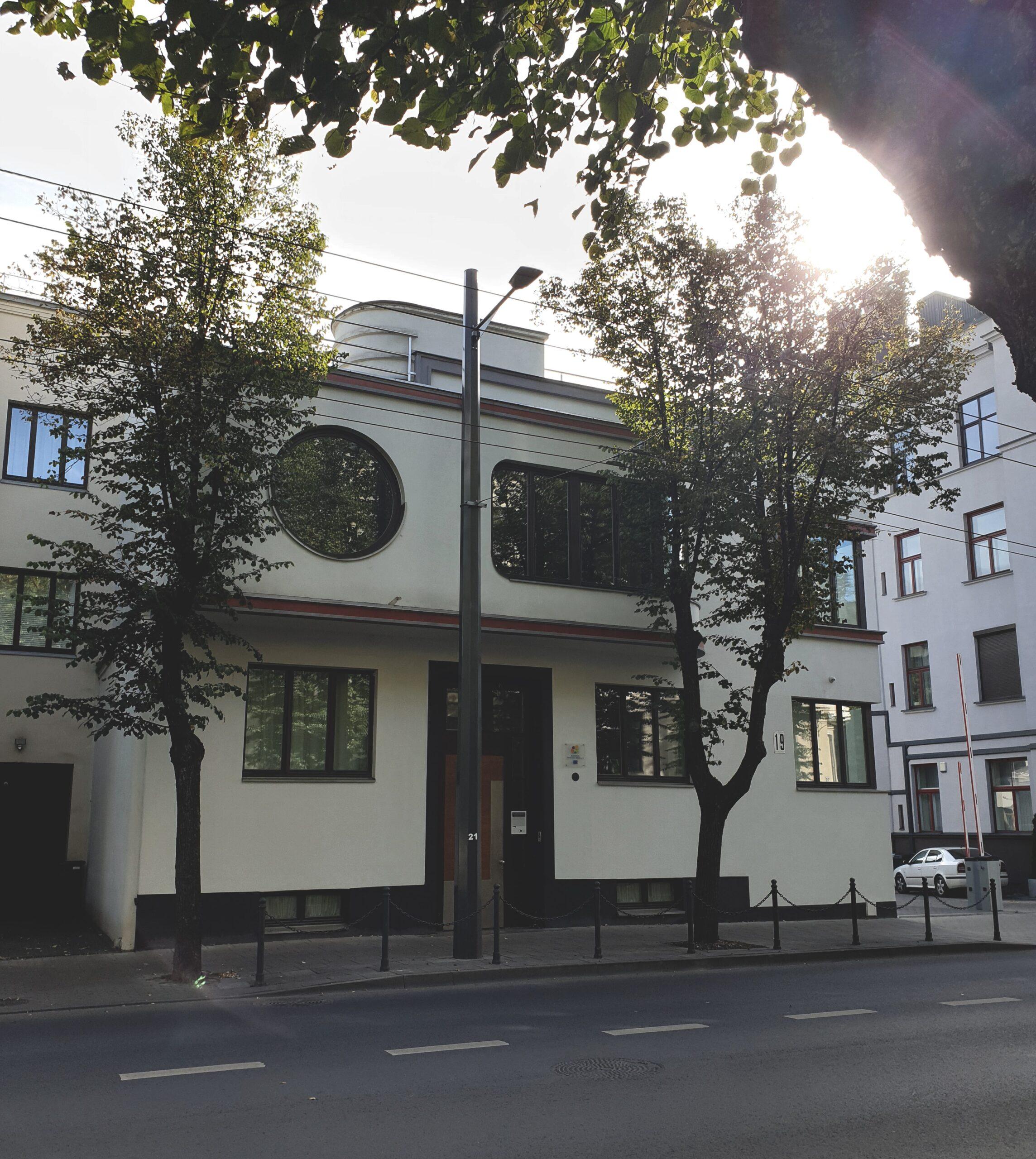J. ir A. Iljinų namas. Lauros Žičkutės nuotrauka