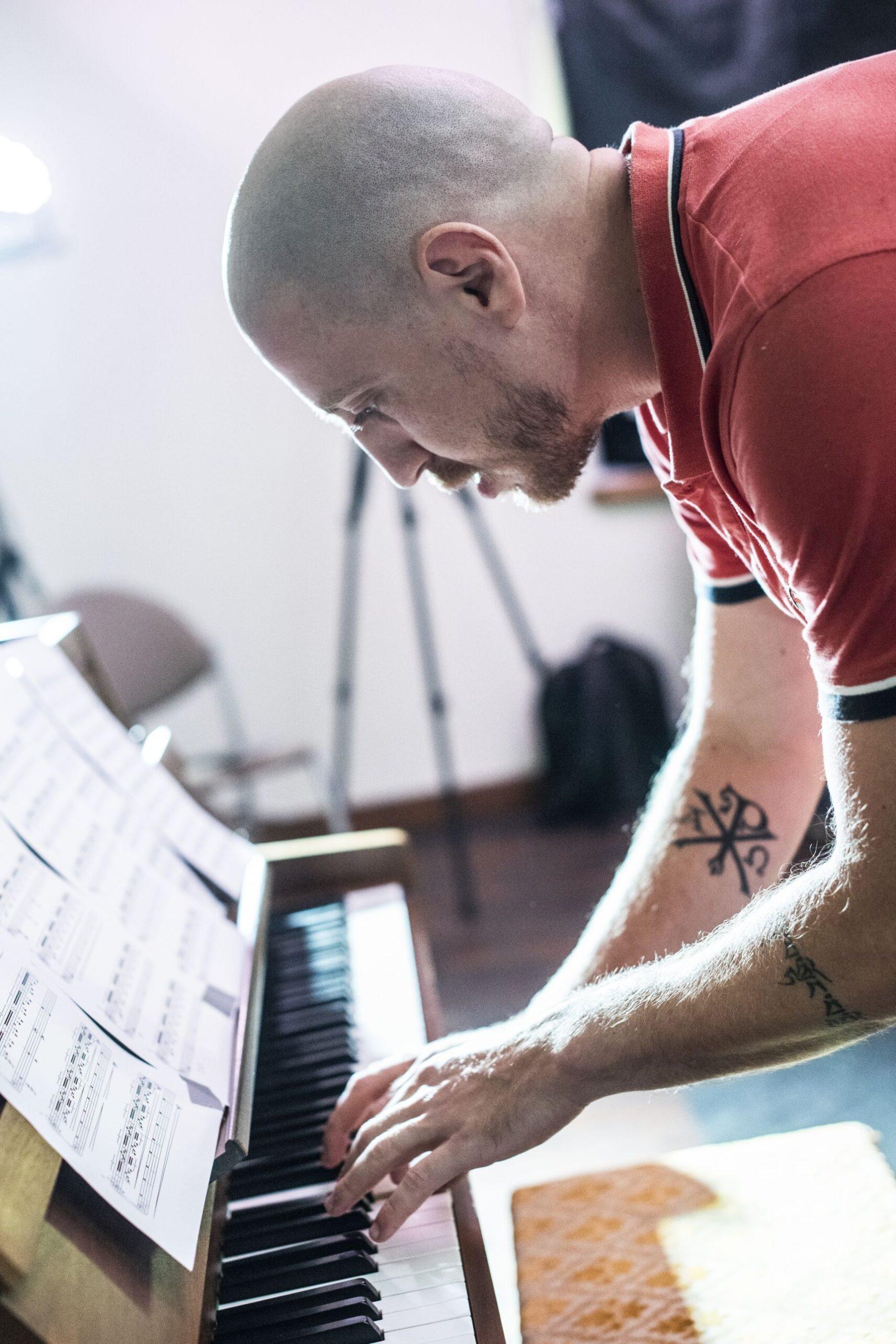Groja pianinu.