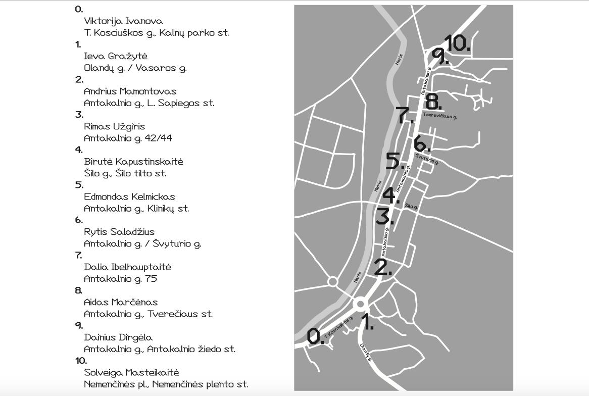 Stotelių žemėlapis.