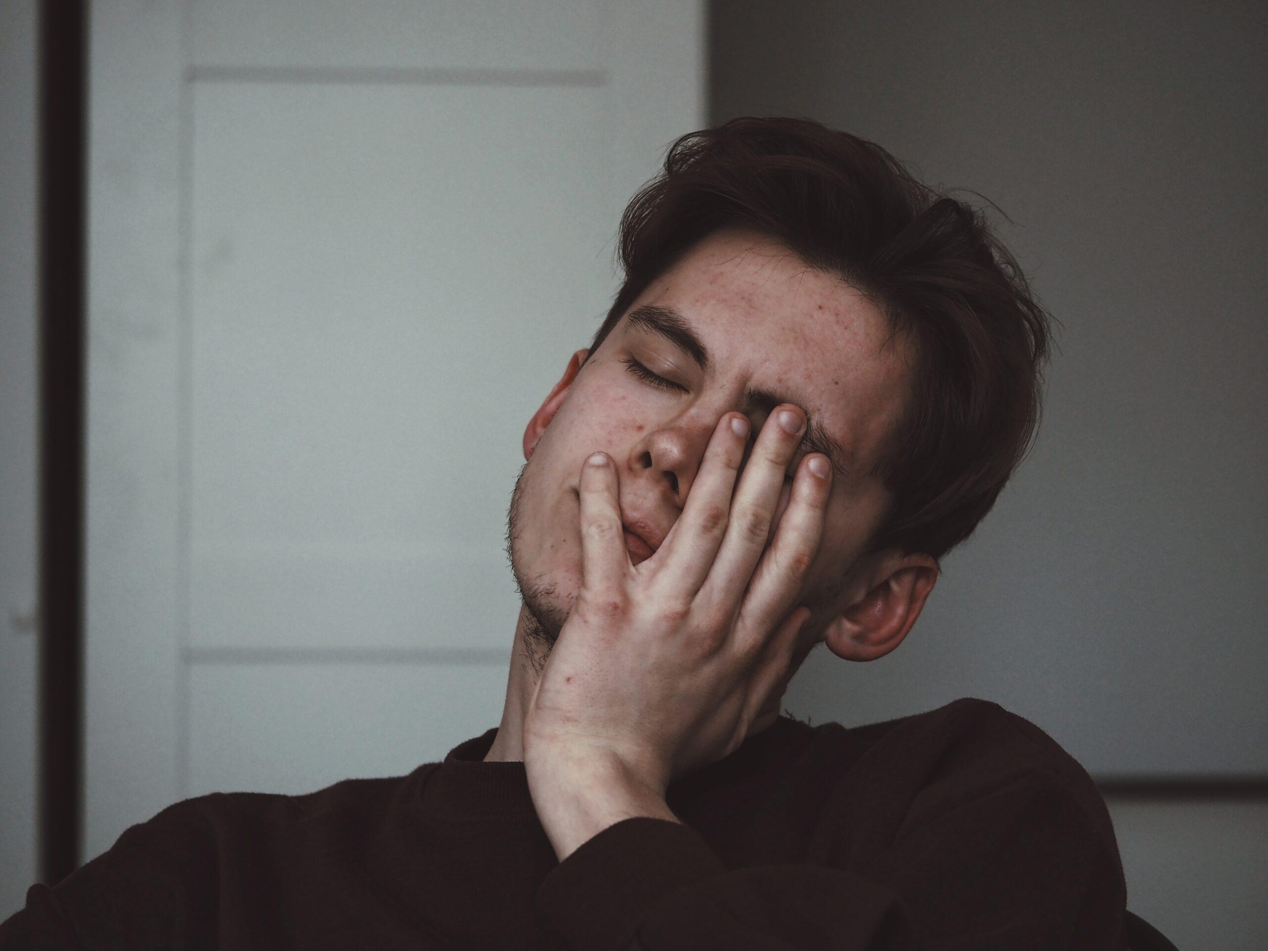 Pavargęs žmogus
