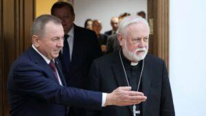 Arkivyskupas P. R. Gallagheris Minske
