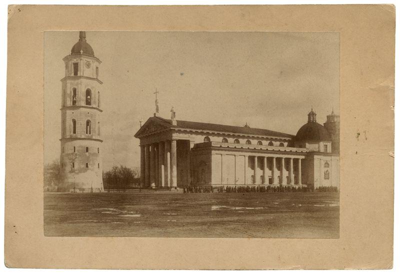 Vilniaus katedra ir varpinė.