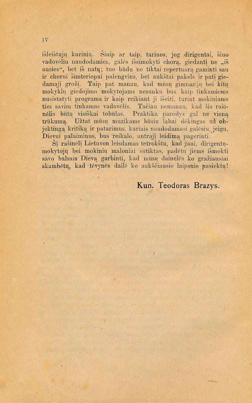 Knygos puslapis.