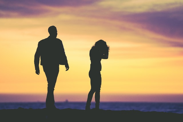 Depresija po skyrybų
