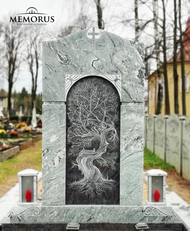Meniškas kapas.