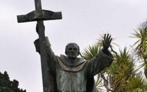 Šventojo Junipero Serra'os statula San Franciske, JAV.
